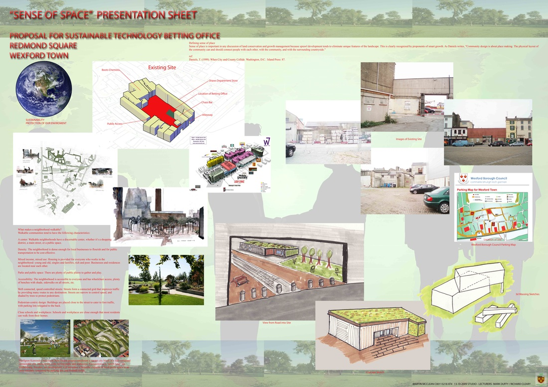 Presentation Sheets Martin McClean Architectural