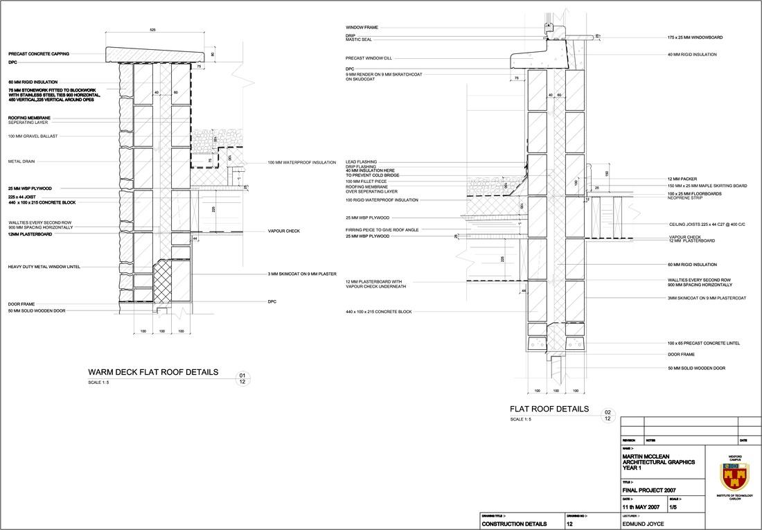 Domestic House - Martin McClean Architectural Technology Portfolio